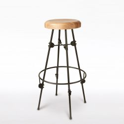 Turning Barstool | Black