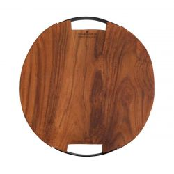 Serving Tray Pure Teak Wood | Round II