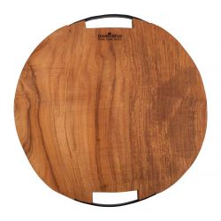 Serving Tray Pure Teak Wood | Round I