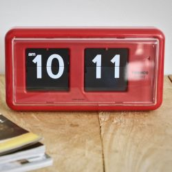 Flip Clock QT30 | Red