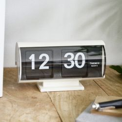 Flip Clock QT30T | White