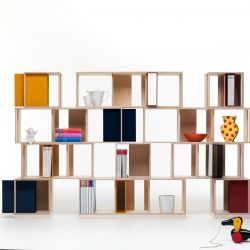 Twin Box Modular Storage Unit | Square