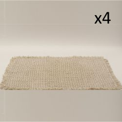 Placemat Ethnic | Beige | Set van 4