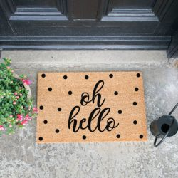 Doormat | Oh Hello Spotty