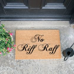 Doormat | No Riff Raff