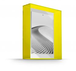 Porte-photos Acrylic | Jaune