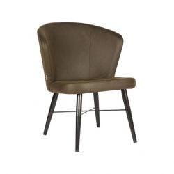 Lounge Chair Tide | Army - Black Metal