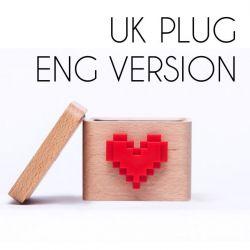 Lovebox pour Envoyer des Messages | Version Europe, Prise Anglaise