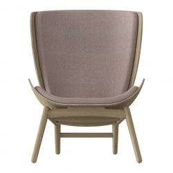 Wing Chair The Reader Oak | Dusty Pink