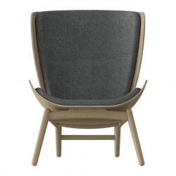 Fauteuil The Reader Eik | Leisteengrijs