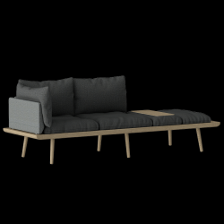 Lounge Around 3-Seater | Oak