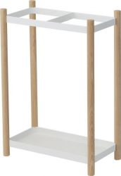 Umbrella Stand Plain | White