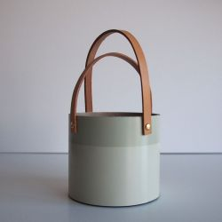 Rør Vase Grey | Low