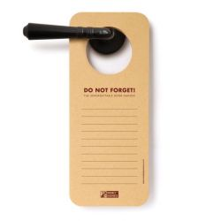 Unforgettable Doorhanger | Memo Pad