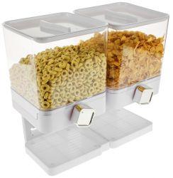 Luxury Double Cornflakes Dispenser | White