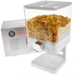 Luxury Single Cornflakes Dispenser | White