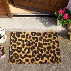 Doormat Leopard Print
