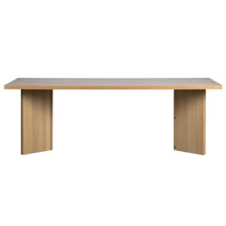 Dining Table Angle | Oak