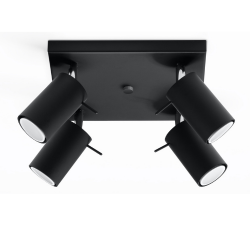 Ceiling Lamp Ring 4 | Black