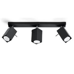 Deckenlampe Merida 3 | Schwarz