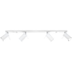 Deckenlampe Ring 4L | Weiß