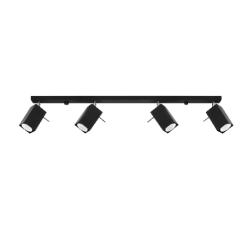Deckenlampe Merida 4L | Schwarz