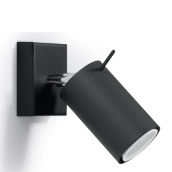 Wall Lamp Ring 1 | Black