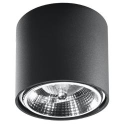 Deckenlampe Tiube | Schwarz