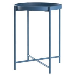 Side Table Metal | Blue