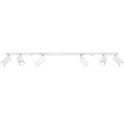 Deckenlampe Ring 6L | Weiß