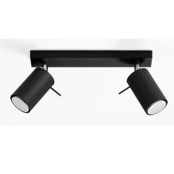 Deckenlampe Ring 2 | Schwarz