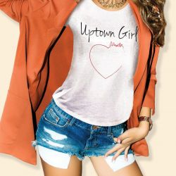 T-shirt Uptown Girl