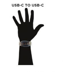 Bracelet Câble de charge USB C vers USB C | Survival