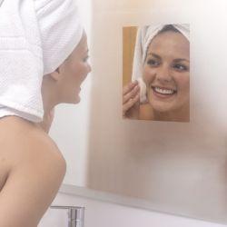Film Anti-Buée pour Miroir Set de 2