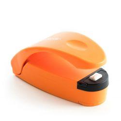 Beutelverschließer mit Schneidemesser und Magnet