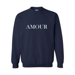 Unisex Sweater Amour | Blau