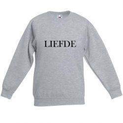 Unisex Sweater Liefde | Grau