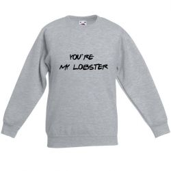Sweater Unisexe My Lobster | Gris