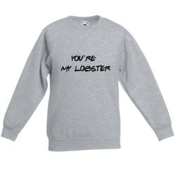 Unisex Sweater My Lobster | Grijs