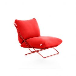 Outdoor Armchair Valentina | Red