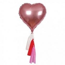Valentine's Heart Balloon | Set of 6
