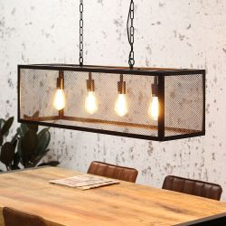 Pendant Lamp Granja 4 Lights | Black