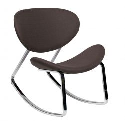 Curve Lounge Chair - zwart