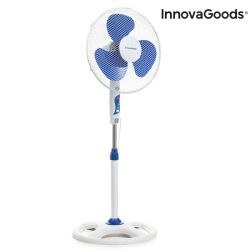 Pedestal Fan | White-Blue