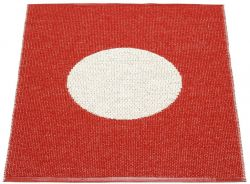 Bathroom Rug Vera Red