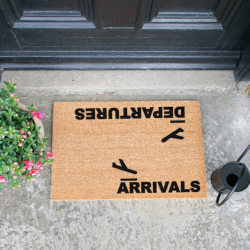 Doormat | Arrivals and Departures