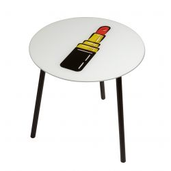 Table d'Appoint Poppy | Lipstick