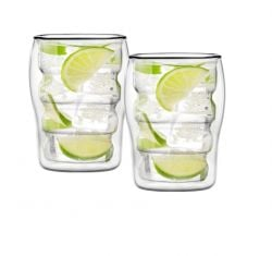 Doppelwandiges Glas 300 ml 2er-Set | Bolla