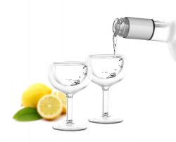 Doppelwandiges Wodka-Glas | 2er-Satz