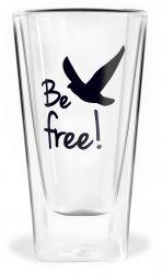 Doppelwandiges Glas | Frei sein